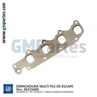EMPACADURA MÚLTIPLE DE ESCAPE MOTOR